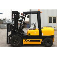 Quality 4 Tonne Four Wheel Drive Forklift , Double Mast Forklift With Fork Positoner wholesale