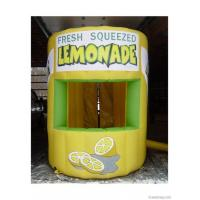 Digital Printing Inflatable Lemonade Booth For Advertising , Advertising Inflatables