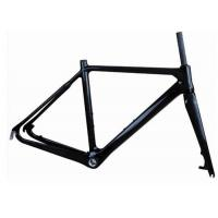 Quality Light Weight UD Finishing Carbon Cyclocross Bike Frames 700C Disc Brake T700 wholesale