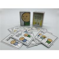 Personalized Playing Cards , Joking Hazard Blank Cards Easy Operation