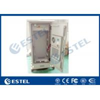 "Quality 19 "" Electric Outdoor Telecom Cabinet  With Heat Exchanger Cooling Double Layer wholesale"