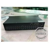 Quality Matrix for LCD Video Wall Splicing Screen HD Media Player Box with HDMI1, 16 input and 16 output wholesale
