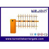 Best CE Approval Parking Lot Barrier Gate , Outdoor Barrier Road Gate Customized with Aluminum Alloy core wholesale