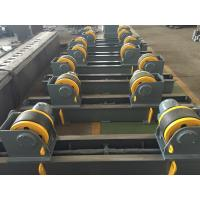 Quality 20t Pipe Turning Rolls Conventional Welding Rotator Drive By 1.1kw Motor Power wholesale