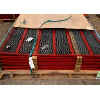 Carbon Steel Anti Clogging Mesh Screens , Manganese Steel Vibrating Screen Mesh