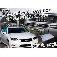 Buy cheap Bluetooth Navigation Lexus Video Interface Box For Gs 2012-2017 / Gps Navigation Box from wholesalers