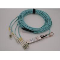 40Gb/s SR4 QSFP+ Optical Transceiver with Breakout 8LC Pigtail