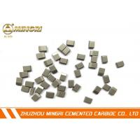 Buy cheap TCT CuttingTungsten Carbide Saw Tips suitable for stainless steel , color steel plate from wholesalers