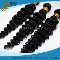 Quality Long Lasting Malaysian Virgin Hair Extensions Deep Wave 8  -  32 Feet  No Chemical 7A wholesale