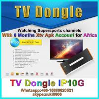 Buy cheap DSTV IPTV dongle IP10G for Africa with 6month account supersport channels from wholesalers