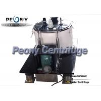 Buy cheap Food Grade SS Basket Centrifuge for Cannabis and Ethanol Separation from wholesalers