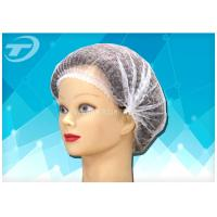 "Quality Disposable non-woven  clip cap 20 "" , single elastic , made from SPP fabric wholesale"