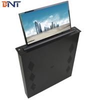 Quality Brushed Aluminum Alloy  Panel Conference Table LED Screen Lifting Up Mechanism 17.3 Inch Screen wholesale