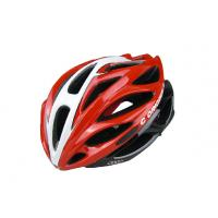 Best 260G Red Adult Bicycle Helmet Specialized Anti - Impact Eps / Pc Shell wholesale