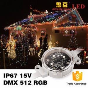 Buy cheap SMD5050 IP67 RGB LED Pixel Christmas LED Strip Light 0.9Watt DC15V from wholesalers