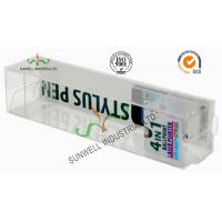 Quality Electronics Ballpoint Plastic Packaging Boxes , Clear Plastic Display Boxes wholesale