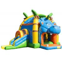 Attractive Inflatable Toddler Bounce House With Slide , Commercial Inflatable Jump House