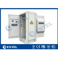 "Quality IP55 Outdoor Telecom Cabinet with Front Door and Rear Door,  Anti Corrosion Powder Coating, 19"" Rack, wholesale"