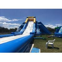 Best 50 Meter Long Inflatable Dry Slide Customized Hippo Water Slide For Fun wholesale