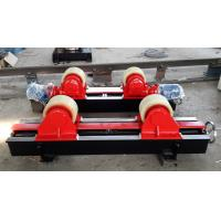 Lead Screw Adjustment Tank Turning Rolls , Digital Speed Display Pipe Welding Stands