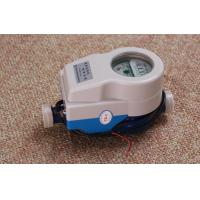 Quality Wired / Wireless Remote Read Water Meter , Valve Controlled Smart Water Meter wholesale