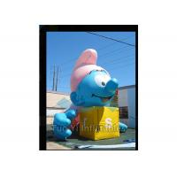 Best Air Sealed Giant Advertising Balloons Inflatable Smurfs Replica Balloon wholesale