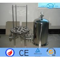 Buy cheap SS304 SS316 Cartridge  Beer Wine High Pressure Filter Housing Sediment from wholesalers