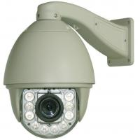 Quality IP66 Intelligent Analog Speed Dome Camera AC / 24V 2A Zoom 23x Optical ,10x Digital wholesale