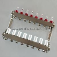 Stainless Steel Radiant Floor Heating Manifold from Fenghua ZOZ Metal Products Co., Ltd.