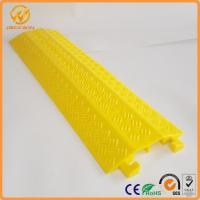 Best Outdoor Cable Protectors Durable Light Duty 2 Channel Cable Flooring Protector wholesale