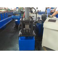 Best 0.3-1.2mm Thickness Light Steel C U Purlins Stud And Track Roll Forming Machine Forming Speed 10-15m/min wholesale