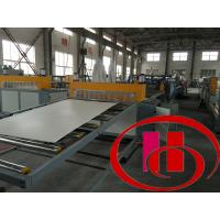 Quality High Precision Wpc Board Making Machine / Extruder For Kitchen And Ad Board wholesale
