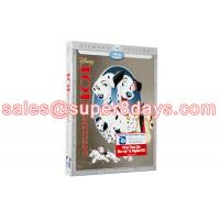 Blue Ray DVD 101 Dalmatians (1961) Disney Cartoon Movies DVD Classic Disney DVD Best Quality Wholesale Supplier