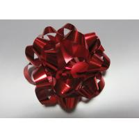 """Colourful 4"""" dia 24 loops Star Bow with satin , polyester , organza for gift basket"""