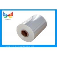 Quality 40mic Shrinkable Clear PVC Shrink Label Wrap Film For Wrapping And Printing Label wholesale
