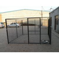 1.5m x 2.0m x 2.0m full hot dipped galvanized dog 10X10X6ft Temporary Dog Fence For Sale Galvanized Chain Link Dog Kenne