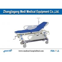 Buy cheap Single Crank Mechanical Hospital Trolley Patient Transfer Stretcher from wholesalers