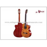 "Best 39"" Cutaway Spruce plywood and 650mm , length Electric Classical Guitar with 4-Band EQ wholesale"