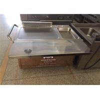 Quality Rectangle Stainless Steel Japanese Teppanyaki Grill With Thermostat Control wholesale