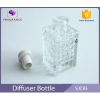 Quality Cylinder Clear Empty Aroma Reed Diffuser Perfume With Cork Stopper wholesale