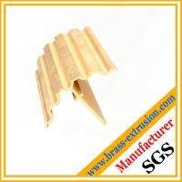 brass handrail extrusion profile sections for buidling and room decoration application