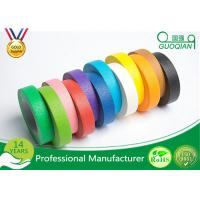 Quality High flexibility Rainbow Coloured Masking Tape For Painting , Easy To Remove wholesale