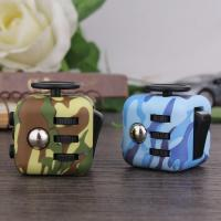 Best Stress Relief anti anxiety fidget cube Camouflage Color Series Fashionable Design wholesale