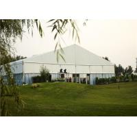 Clear Outdoor Wedding Canopies , Long Life Heavy Duty Party Tent SGS Certificate