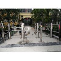 Best Intelligent Infrared Sensor Automatic Swing Gates , Stainless Steel Swing Barrier wholesale