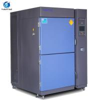 Quality 108 L Programmable Thermal Shock Test Chamber Liquid Type Water Cooling wholesale