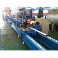 0.4~1.0mm Trapped Round And Octagonal Pipe Forming Machine For Rolling Shutters Doors And Windows