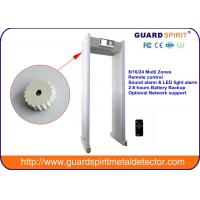 Shopping mall , Entertainment Door Frame Metal Detector with LED light