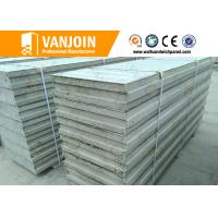 Quality Prefab Insulated Wall Panels , EPS Sandwich Panels Fireproof 4 Hours FRP wholesale