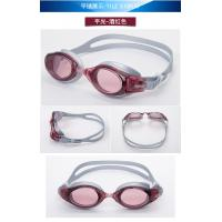 Crystal Clear Vision Anti - fog Waterproof Adult Swimming Goggles , Water Goggles